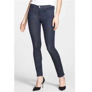 FRAME Dark Wash Le Skinny De Jeanne Olympic Jeans